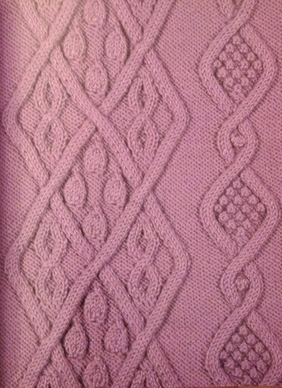 Aran Knitting nancyjthomas