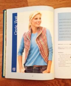knit circle vest