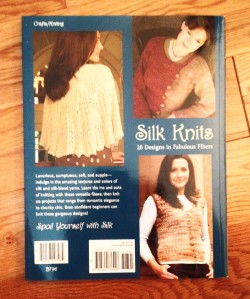 Silk Knits back cover