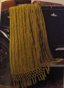 Chrysler Throw - Green version