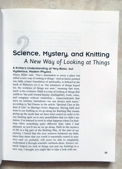 Science and Knitting