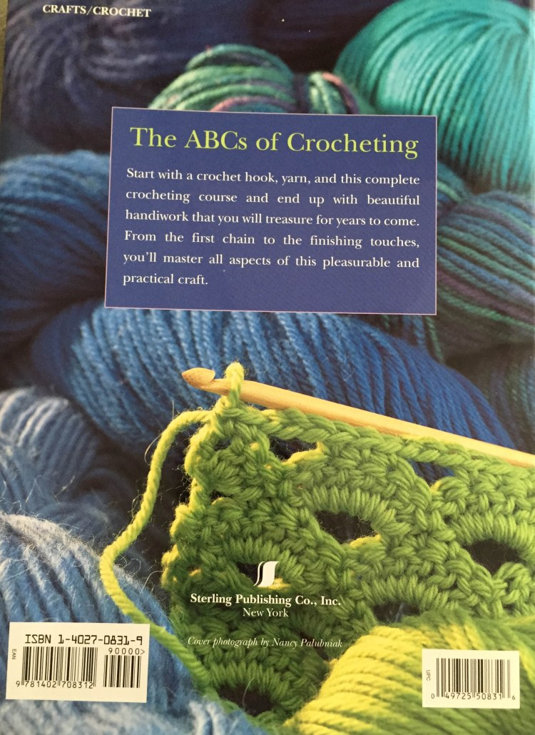 Crocheting School - back cover
