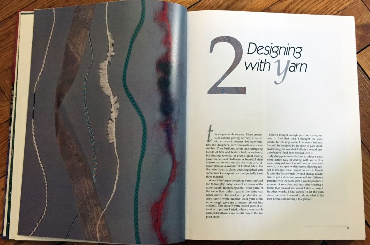 Chapter 2 - Designing With Yarn