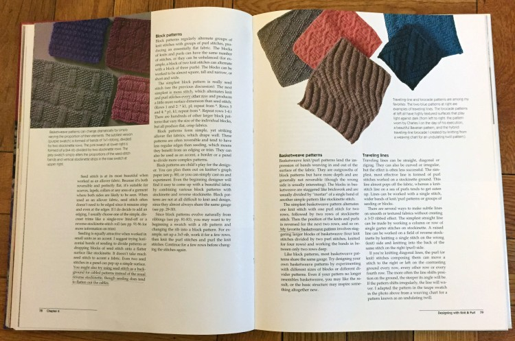 Knit & Purl patterns