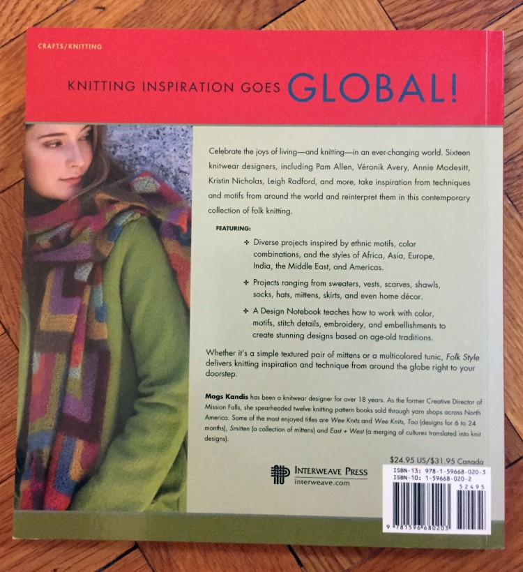 Folk Style - back cover
