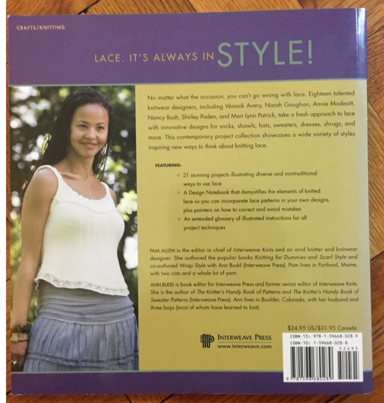 Lace Style - back cover