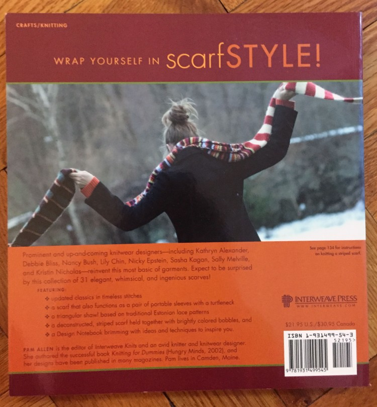 Scarf Style - back cover