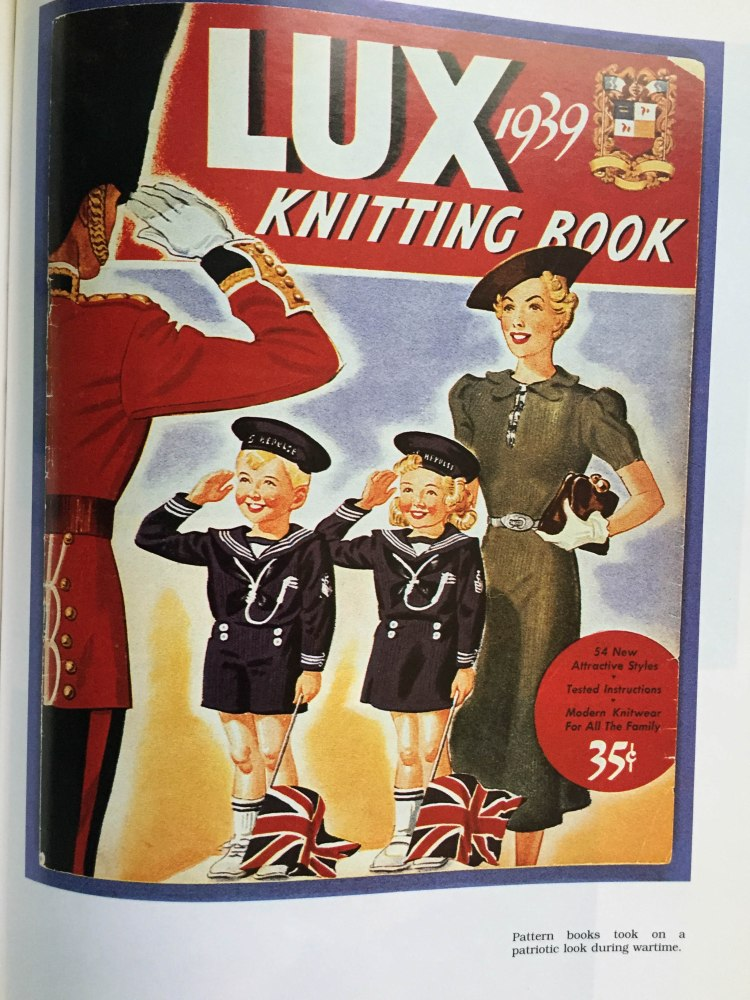 Lux Knitting Book - 1939