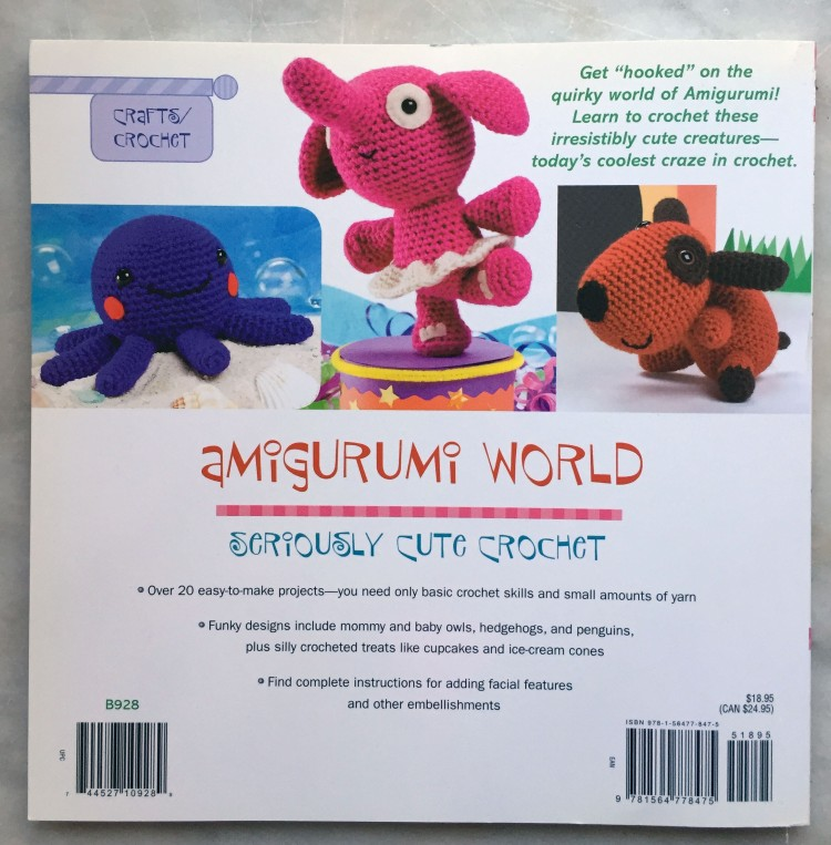 Amigurumi World - Back Cover